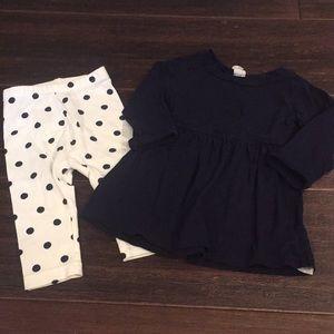 Gap dress with Leggings